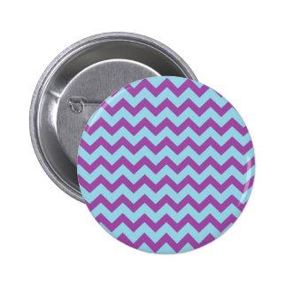 Colordul Chevron Pinback Button
