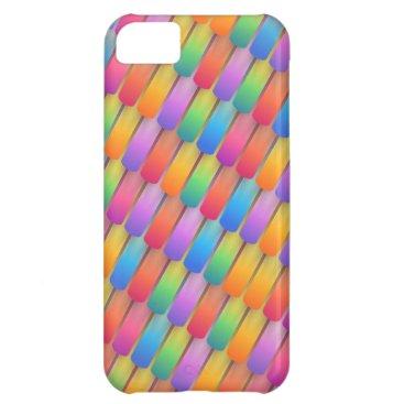 coloré arriére plan résumé case for iPhone 5C