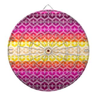 Colorea la colección tablero dardos