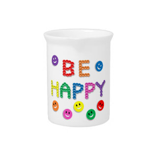 Coloreado brillantemente, diversión, jarra
