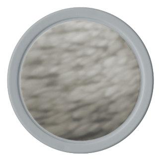 Coloreado debajo del agua se nubla gris abstracto fichas de póquer