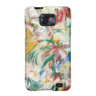 Coloreado Fingerpaint el arte Samsung Galaxy SII Carcasas