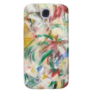 Coloreado Fingerpaint el arte Funda Para Galaxy S4