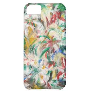 Coloreado Fingerpaint el arte Funda Para iPhone 5C