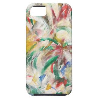 Coloreado Fingerpaint el arte Funda Para iPhone SE/5/5s