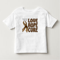 Colorectal Cancer Awareeness Toddler T-shirt