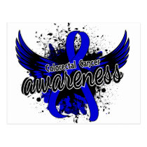 Colorectal Cancer Awareness 16 Postcard