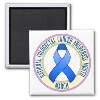 Colorectal Cancer Awareness Month Magnet