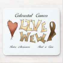 Colorectal Cancer Awareness Mouse Pad