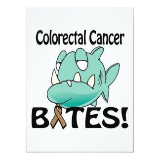 Colorectal Cancer BITES 6.5x8.75 Paper Invitation Card