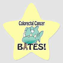 Colorectal Cancer BITES Star Sticker