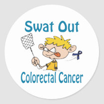 Colorectal-Cancer Classic Round Sticker