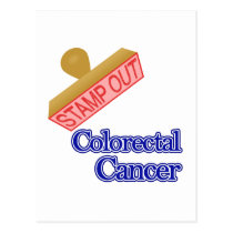Colorectal Cancer Postcard