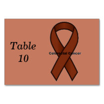 Colorectal Cancer Table Number