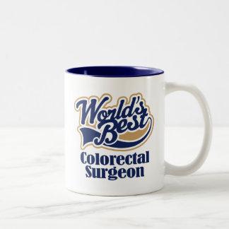 Colorectal Surgeon Gift Two-Tone Coffee Mug