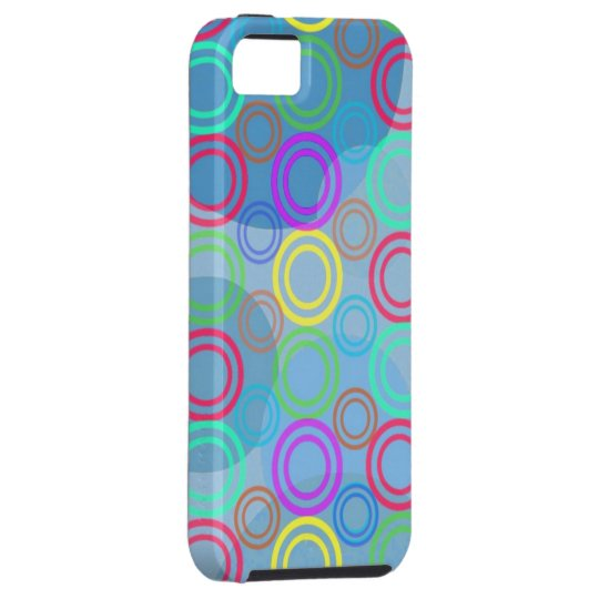 Colored Abstract IPone 5 Case