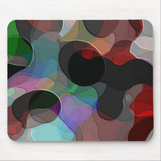 Colored Air Bubbles Mouse Pad