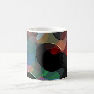 Colored Air Bubbles Classic White Coffee Mug