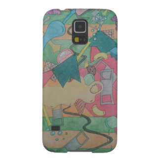 Colored and rolled galaxy s5 case