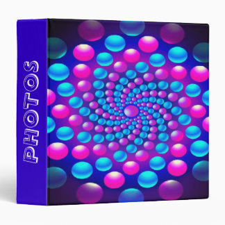 Colored Balls Binder