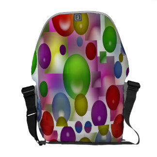 Colored Balls Courier Bag