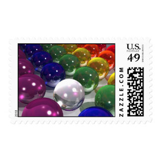 Colored Balls Stamp