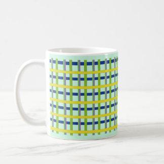 Colored Bamboo Classic White Coffee Mug