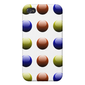 Colored Beads iPhone 4 Cover