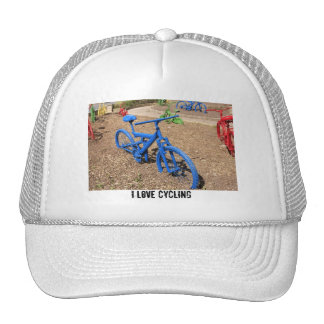 Colored Bicycles Hat