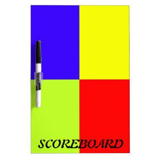 Colored Block Art Dry-Erase Board