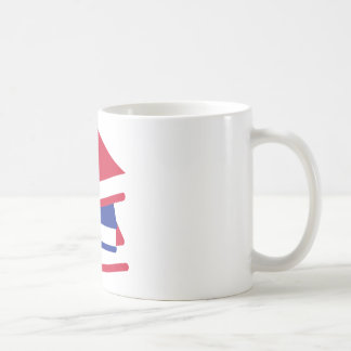 Colored books coffee mug