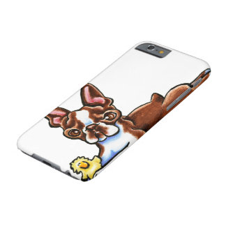 Colored Boston Terrier Barely There iPhone 6 Case