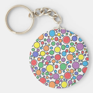 Colored Bubbles Keychain