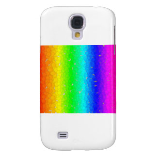 Colored Bubbles Rainbow Galaxy S4 Cases