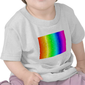 Colored Bubbles Rainbow T-shirts
