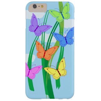 Colored Butterflies and Sky iPhone 6/6s Plus Barely There iPhone 6 Plus Case
