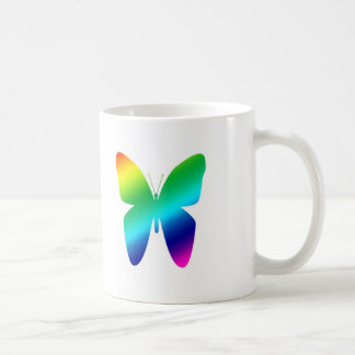 Colored Butterfly Coffee Mug