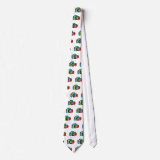 Colored Camera Neck Tie