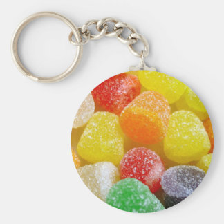 colored candies keychain