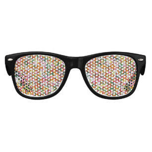 0428aa0533 colored Candy sprinkes Texture Template Kids Sunglasses