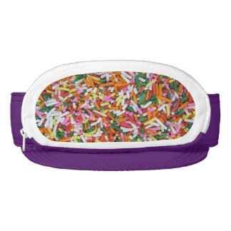 colored Candy sprinkes Texture Template Visor