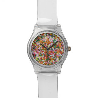 colored Candy sprinkes Texture Template Watches