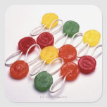 colored candy stickers