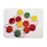 colored candy vinyl magnets