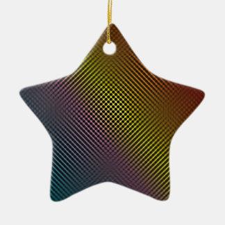 colored carbon fiber skin vol.1 ceramic ornament