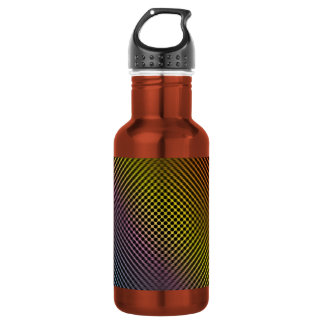colored carbon fiber skin vol.1 18oz water bottle