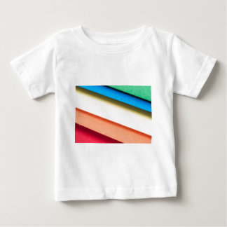 Colored Cardboard Papers Baby T-Shirt