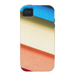 Colored Cardboard Papers iPhone 4 Cases