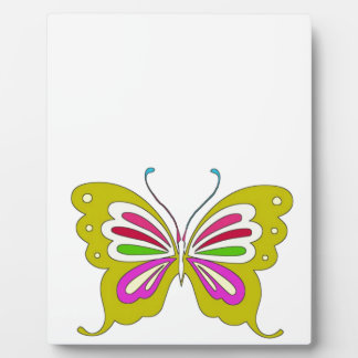 Colored Cartoon Butterfly Display Plaques