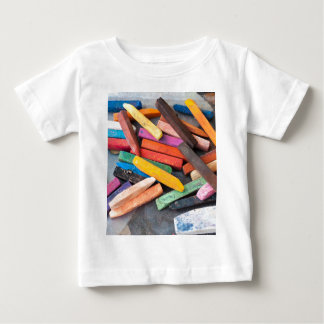 colored chalks baby T-Shirt